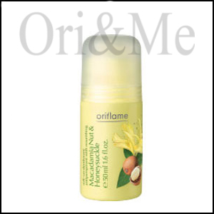 Roll-on Deodorant Antiperspirant with Nourishing Macadamia Nut & Honeysuckle Extract