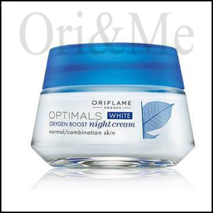 White Oxygen Boost Night Cream Normal/Combination Skin