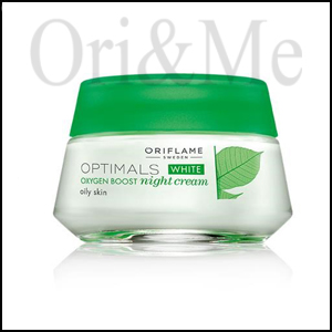 Optimals White Oxygen Boost Night Cream Oily Skin