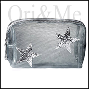 Sparkle Star Cosmetic Bag