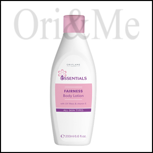 Essentials Fairness Body Lotion with UV Filters & Vitamin E