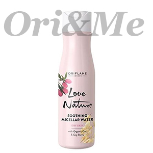 LOVE NATURE Soothing Micellar Water with Organic Oat & Goji Berry