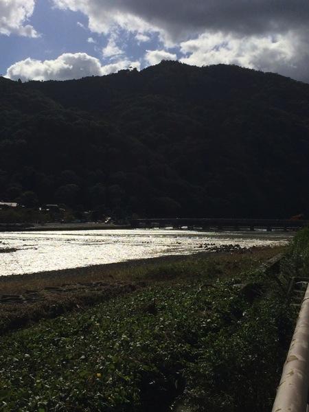 iPhone 5sの標準カメラで撮った桂川