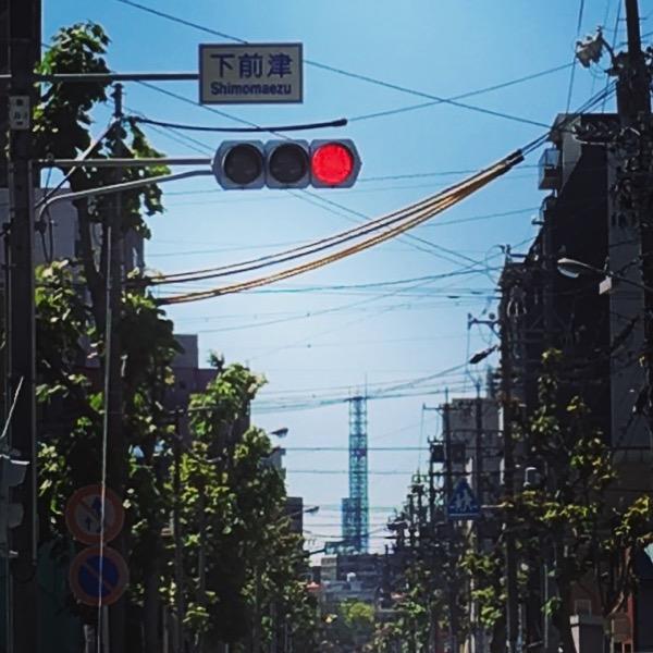 下前津の交差点から見る中京テレビ
