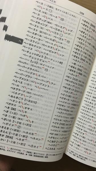 「NHK日本語発音アクセント新辞典」のアクセント表記