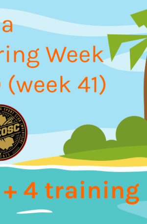 Tropical O-Week Day 9 (12 Oct)