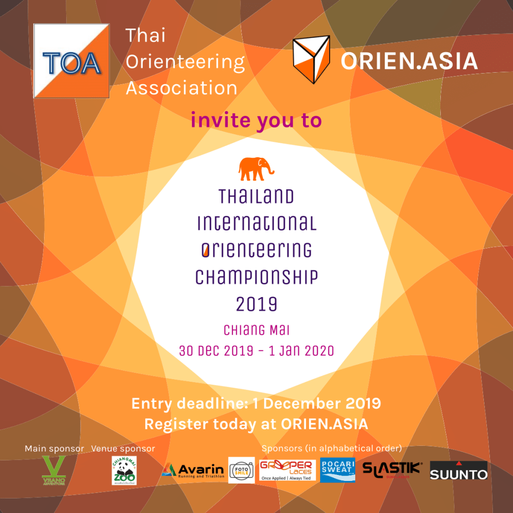 Thailand International Orienteering Championship 2019