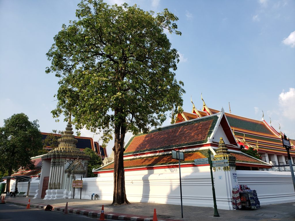Thailand är ett huvudsakligt buddhistiskt land tack vare kulturellt inflytande från Indien.