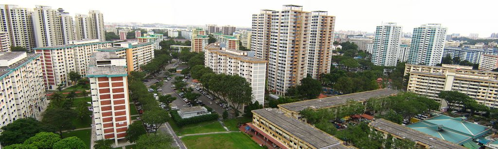Clementi, an HDB housing estate in the west of Singapore. Image by Calvin Teo, CC BY-SA 3.0