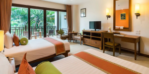 Superior room at The Ravindra Beach Resort & Spa, the official hotel of Thailand International Orienteering Championship & Training Camp 2021