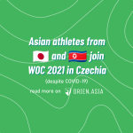 Asian athletes join WOC 2021 in Czechia despite COVID-19