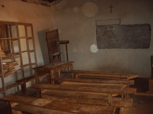 Escuela en Amdranomadio que queremos reconstruir
