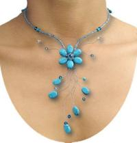 One of a Kind Specials :: Matching Turquoise Necklace and