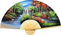 Oriental Wall Fans :: Japanese Autumn