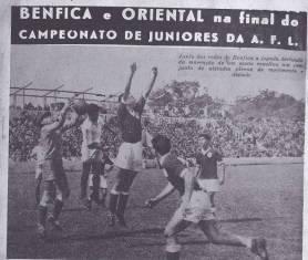 Juniores Benfica vs Oriental 2