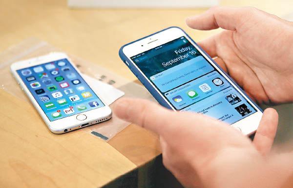 韓集體控告蘋果「刻意弄慢手機」 - 東方日報