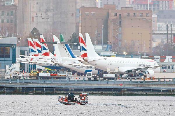 倫敦城市機場 發現炸彈關閉 - 東方日報