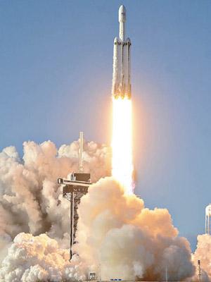 火箭送152人骨灰上太空 - 東方日報