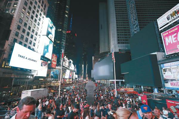 曼哈頓大停電 盜賊橫行4小時 - 東方日報