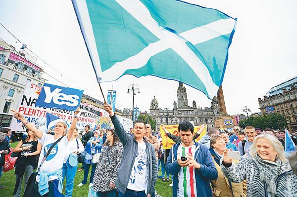 蘇格蘭議會通過 重推獨立二次公投 - 東方日報
