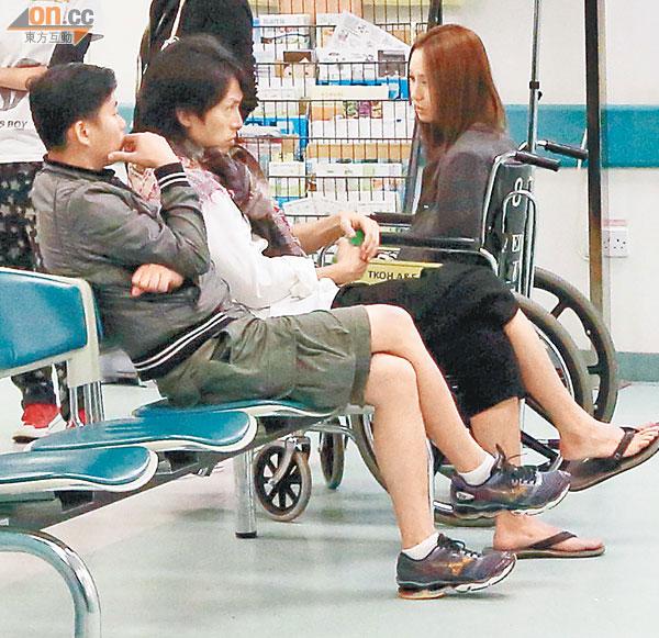 徐子珊心急扶住復工 - 東方日報