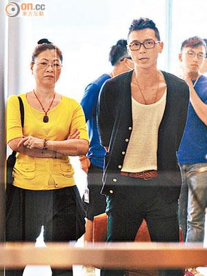 黃子恒行中環冇幫襯 - 東方日報