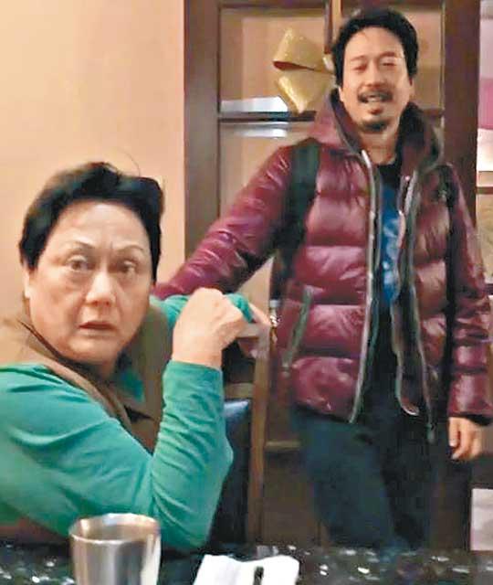 秘密赴美團聚郭偉亮嚇親阿媽 - 東方日報