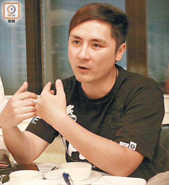 李泳豪怒斥失實擬告《蘋果》誹謗 - 東方日報