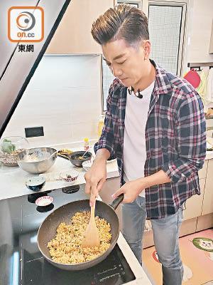 黎諾懿跟老人家學廚最緊要好玩 - 東方日報
