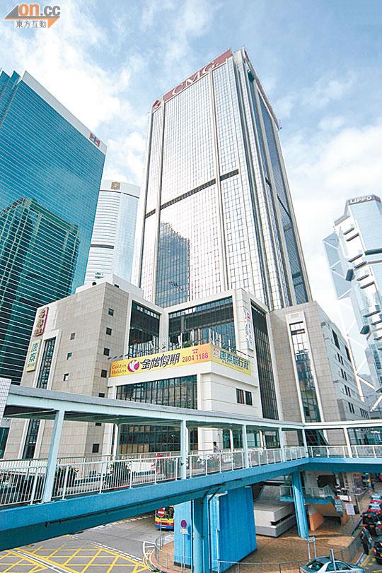 統一中心65車位嗌億三 - 東方日報