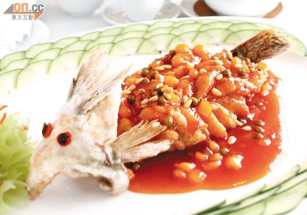 松鼠桂魚吱吱響 - 東方日報