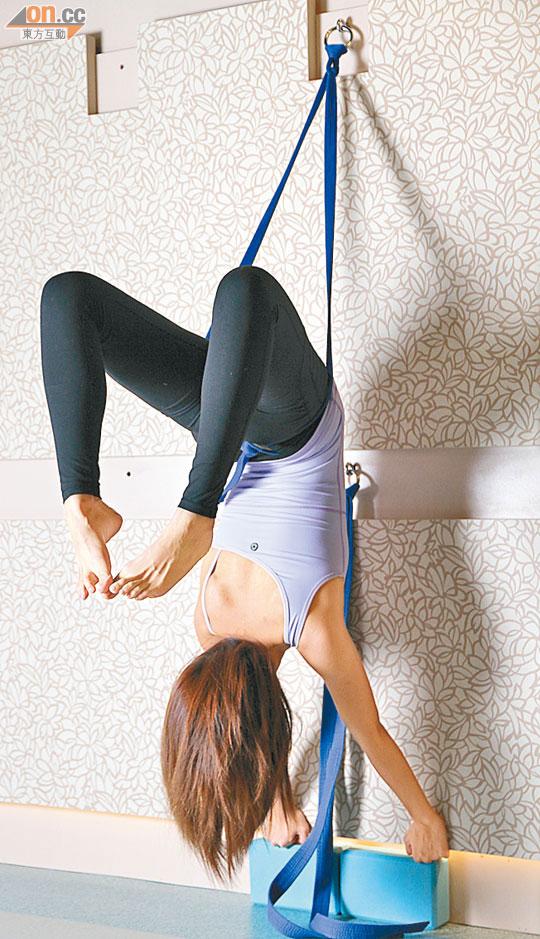 哈努曼瑜伽玩倒吊刺激淋巴 - 東方日報