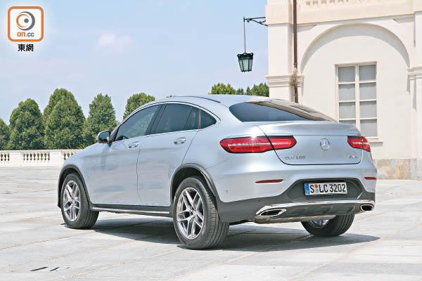 意大利測試Mercedes-Benz GLC Coupe人氣新戰線 - 東方日報