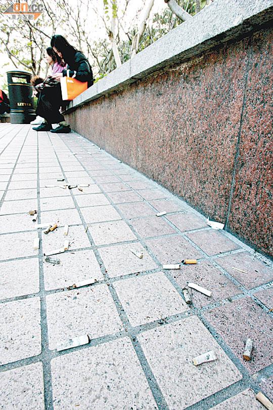 亂拋煙頭罰款 四成遊客走數 - 東方日報