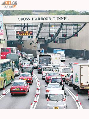 三隧分流 紅加東減可行 - 東方日報