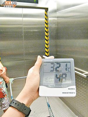 西鐵站升降機熱如焗爐 - 東方日報