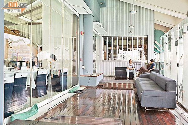 碼頭餐廳霸道 阻入公共空間 - 東方日報