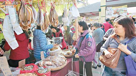 漁農展今煞科 攤販拒劈價 - 東方日報
