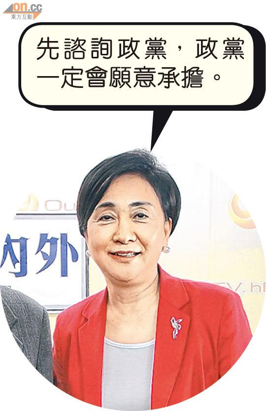 政情:廢腑之言:卿姐空談「八黨共識」遭寸爆 - 東方日報