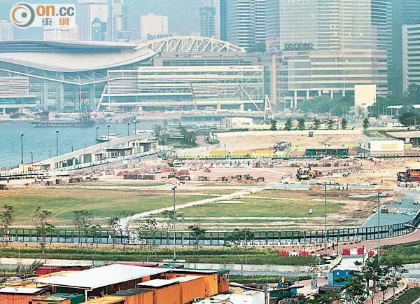 陳佐洱:駐軍碼頭不可能縮減 - 東方日報