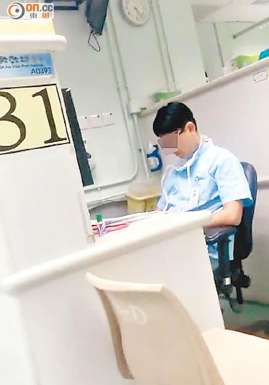 屯院急癥室醫護當值「釣魚」 - 東方日報