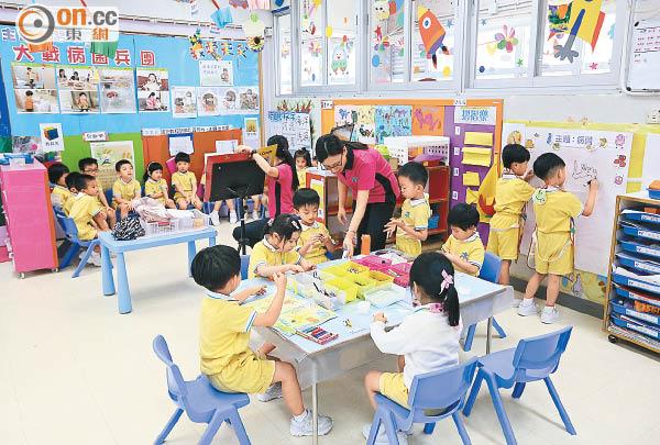 幼園租金資助 擬設雙重上限 - 東方日報