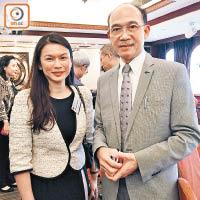 楊嘉燕(左)同郭振華(右)均認為香港依家就研發嘅扣稅要多啲。