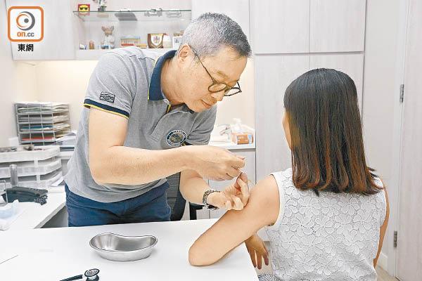 資助打流感針今展開 - 東方日報