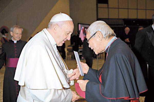 陳日君言論 梵蒂岡驚訝表遺憾 - 東方日報