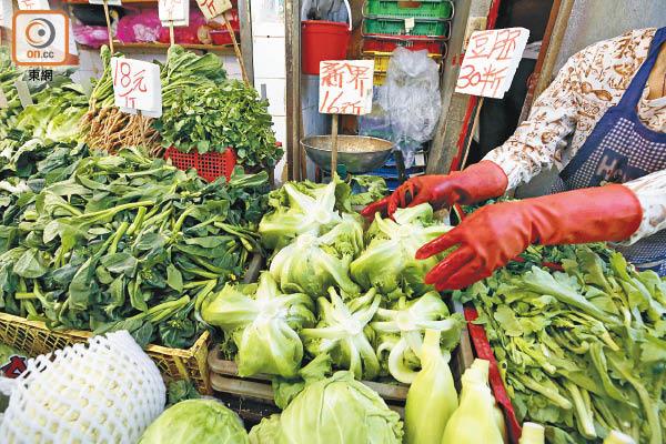 63%含農藥毒菜攻陷本港 - 東方日報