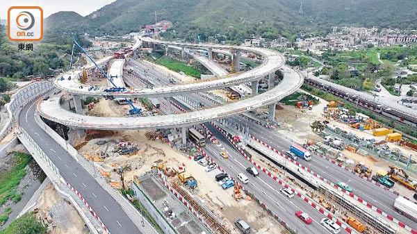 337億蓮塘口岸工程 延期至2019年完成 - 東方日報