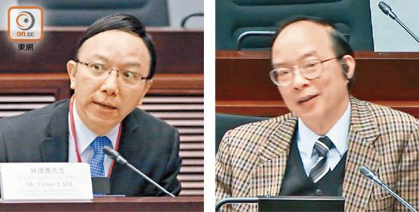 中環出更:林偉喬叫錯「陳議員」馬逢國嬲爆即更正 - 東方日報