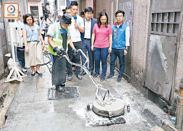 全城清潔滅鼠恐淪口號騷 - 東方日報