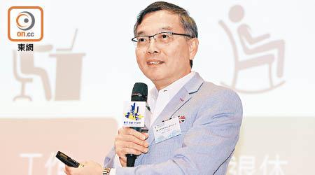 中環出更:林正財鼓勵銀髮族重投職場 - 東方日報